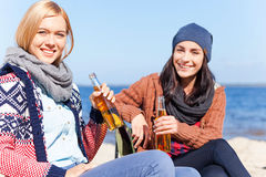 Spending great time together. Royalty Free Stock Image