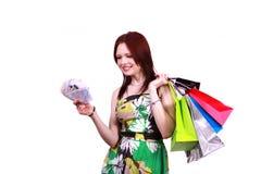 Spending money. Stock Images