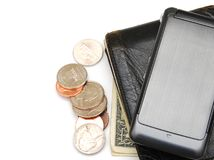 Spending money Stock Image