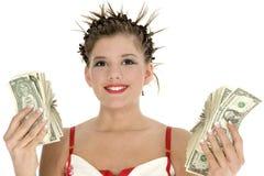 Spending Money royalty free stock photos