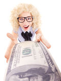 Spending money concept Stock Photography