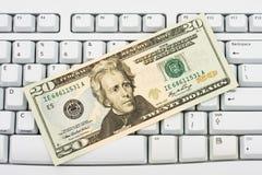 Spending Money Online Stock Images