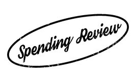 Spending Review rubber stamp Royalty Free Stock Photo