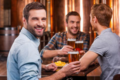 Spending time with best friends. Stock Photos