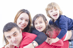 Spending time with family Royalty Free Stock Photos