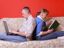 Spending time together Stock Photography