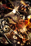 Spending your time. Abstract conceptual backgrounds Royalty Free Stock Photo