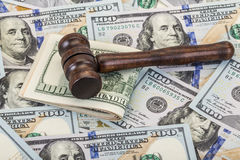 Spends for legal issues Stock Photography