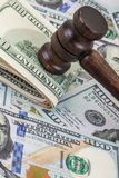 Spends for legal issues Stock Photo
