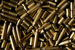 Spent ammo casings Stock Image