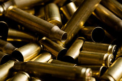 Spent ammo casings Royalty Free Stock Photography