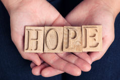 Speranza fotografie stock