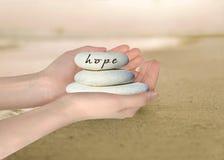 Speranza fotografia stock