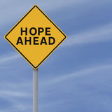 Speranza avanti Immagine Stock