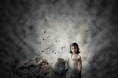 Speranza nell'oscurità Fotografia Stock Libera da Diritti