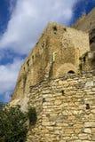 sperlinga замока средневековое Стоковые Фото