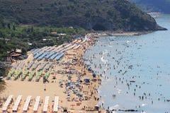 Sperlonga beach Stock Images