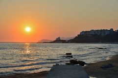 Sperlonga coast Royalty Free Stock Image