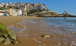 Sperlonga italy lazio sea Stock Images