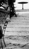 Sperlonga kenmerkend van het land het 'zuidelijke Italiaans Royalty-vrije Stock Foto's
