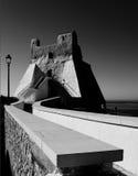 Sperlonga kenmerkend van het land het 'zuidelijke Italiaans Royalty-vrije Stock Foto