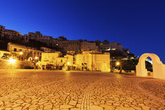 Sperlonga at sunrise Royalty Free Stock Photo