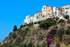 Sperlonga view, Latina, Lazio, Italy Stock Photo