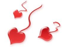 spermatozoons сердца Стоковое Изображение