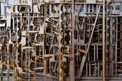 Sperrholz geschnitten durch Laser Lizenzfreies Stockfoto