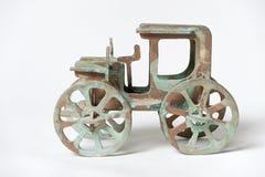 Sperrholzmodell von altem das Auto Stockfotos