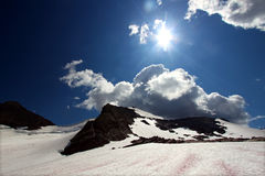 Sperry Glacier Scenery - Montana Stock Images