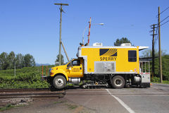 Sperry Rail Flaw Detector Royalty Free Stock Images