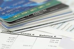 Spese di attività bancarie Immagini Stock Libere da Diritti