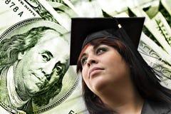 Spese di tasse scolastiche dell'istituto universitario Fotografie Stock