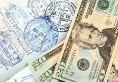 Spese di viaggio Immagini Stock