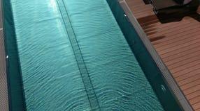 Spese generali della piscina Fotografia Stock Libera da Diritti