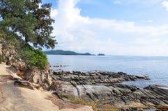 Spets av Borneo, Simpang Mengayau, Sabah, Malaysia Royaltyfri Foto