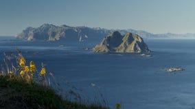 Spets av den Lofoten skärgården Arkivfoton