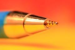 Spets av pennan Arkivbilder