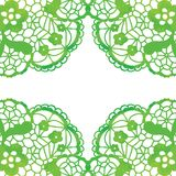 Spets- elegant ram 1 kortinbjudan Arkivbilder
