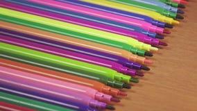 spets för färgfiltpennor lager videofilmer