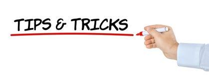 Spetsar och trick arkivfoton