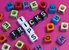 Spetsar & trick Arkivbilder