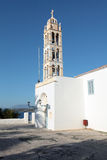 Spetses cathedral campanile Royalty Free Stock Image