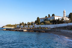 Spetses cathedral monastery Royalty Free Stock Photo