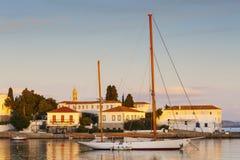 Spetses wyspa Zdjęcie Royalty Free