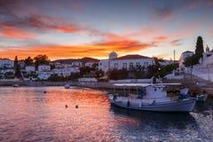 Spetses wyspa Fotografia Royalty Free