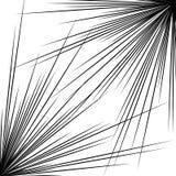 Spetsigt korsabstrakt begreppform, beståndsdel Utstråla lättretlig bristning vektor illustrationer