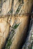` Spettacolare s di Rey The King del di EL Caminito poca via vicino a Malage in Spagna Fotografia Stock Libera da Diritti