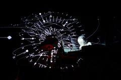 Spettacolo dal vivo banda ambientale di Squarepusher (elettronico, techno e) al festival del sonar Immagini Stock Libere da Diritti